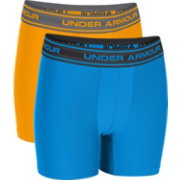 Under Armour Boys' HeatGear O Series 6'' BoxerJock Boxer Briefs 2 Pack
