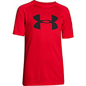 Under Armour Boys' Big Logo Tech T-Shirt