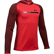 Under Armour Boy's Tech Prototype Hooded Long Sleeve Shirt