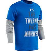Under Armour Little Boys' Talent Has Arrived Long Sleeve Shirt