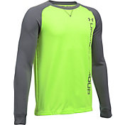 Under Armour Boys' Waffle Long Sleeve Shirt