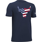 Under Armour Boys' Project Rock the Troops T-Shirt