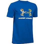 Under Armour Boys' Camo Fill Logo T-Shirt