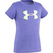 Under Armour Little Girls' Glitter Big Logo T-Shirt