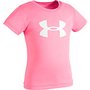 Under Armour Little Girls' Glitter Big Logo T-Shirt