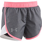 Under Armour Little Girls' Check Point Fast Lane Shorts