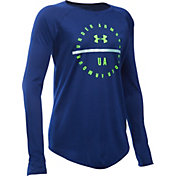 Under Armour Girls' Circle Graphic Long Sleeve Shirt