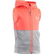 Under Armour Little Girls' Armour Fleece Full Zip Vest