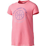 Under Armour Girls' Full Court Hustle T-Shirt