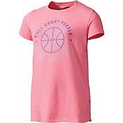 Under Armour Girls' Full Court Hustle T-Shirt