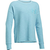 Under Armour Girls' French Terry Pullover Sweatshirt