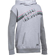 Under Armour Girls' Favorite Fleece Graphic Hoodie