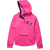 Under Armour Girls' Storm ColdGear Infrared Dobson Half Zip Hoodie