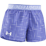 Under Armour Little Girls' Glazed Dot Play-Up Shorts