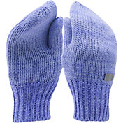 Under Armour Girls' Shimmer Knit Mittens