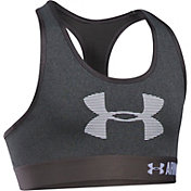 Under Armour Girls' HeatGear Armour Graphic Sports Bra