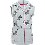 Under Armour Girls' Kaleidelogo Full Zip Vest