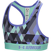 Under Armour Girls' Novelty Armour Printed Sports Bra