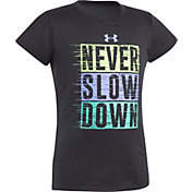 Under Armour Little Girls' Never Slow Down T-Shirt