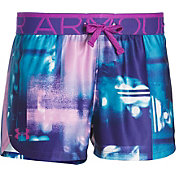 Under Armour Girls' Play Up Printed Shorts