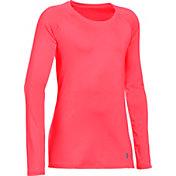 Under Armour Girls' HeatGear Armour Long Sleeve Shirt