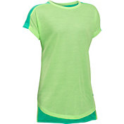 Under Armour Girls' Threadborne Play Up T-Shirt