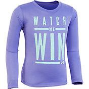 Under Armour Little Girls' Watch Me Win Long Sleeve Shirt