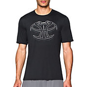 Under Armour Men's 3D Mapped Basketball Icon Graphic T-Shirt