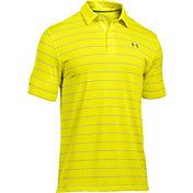 Under Armour Men's coldblack Swing Plane Stripe Golf Polo