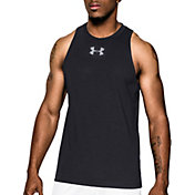 Under Armour Men's Charged Cotton Just Sayin Too Basketball Sleeveless Shirt