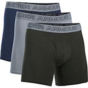 Under Armour Men's Charged Cotton 6'' Boxerjock Boxer Briefs 3 Pack