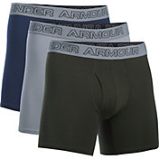 Under Armour Men's Charged Cotton 6'' Boxerjock Boxer Briefs 3 Pack