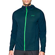 Under Armour Men's ColdGear Infrared Grid Fitted Full-Zip Hoodie