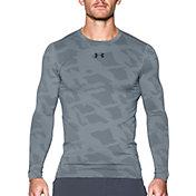 Under Armour Men's ColdGear Jacquard Compression Crewneck Long Sleeve Shirt