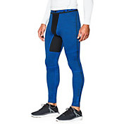 Under Armour Men's ColdGear Armour Twist Print Compression Leggings
