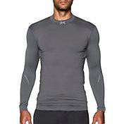 Under Armour Men's ColdGear Armour Elements Mock Neck Compression Long Sleeve Shirt