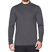 Under Armour Men's ColdGear Mock Long Sleeve Golf Shirt
