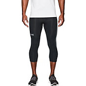 Under Armour Men's CoolSwitch Compression Three Quarter Length Running Leggings