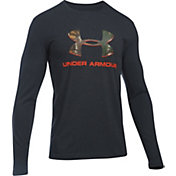 Under Armour Men's Camo Fill Logo Long Sleeve Shirt