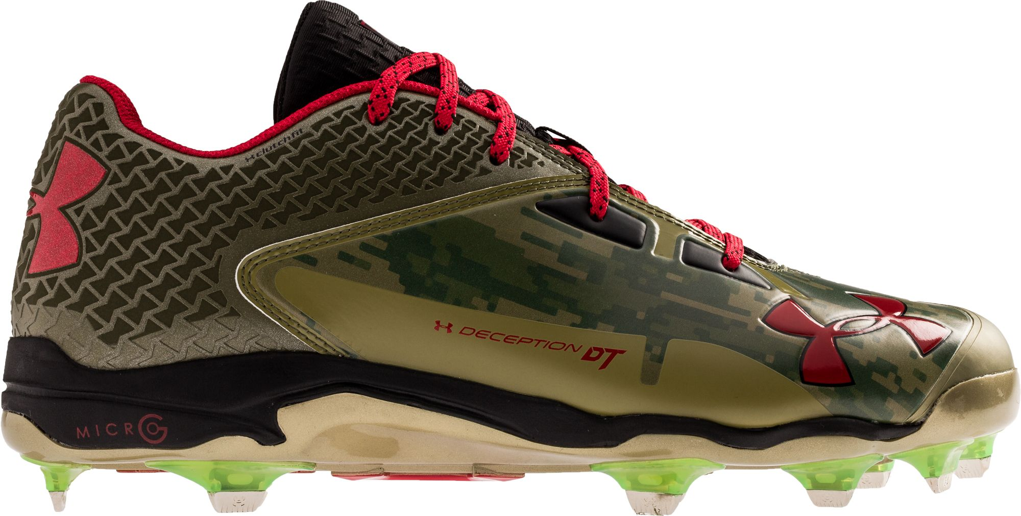 under armour baseball cleats. under armour men\u0027s deception low dt memorial day baseball cleats r