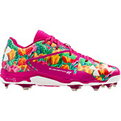 Under Armour Men's Deception Low DT Mothers Day Baseball Cleats