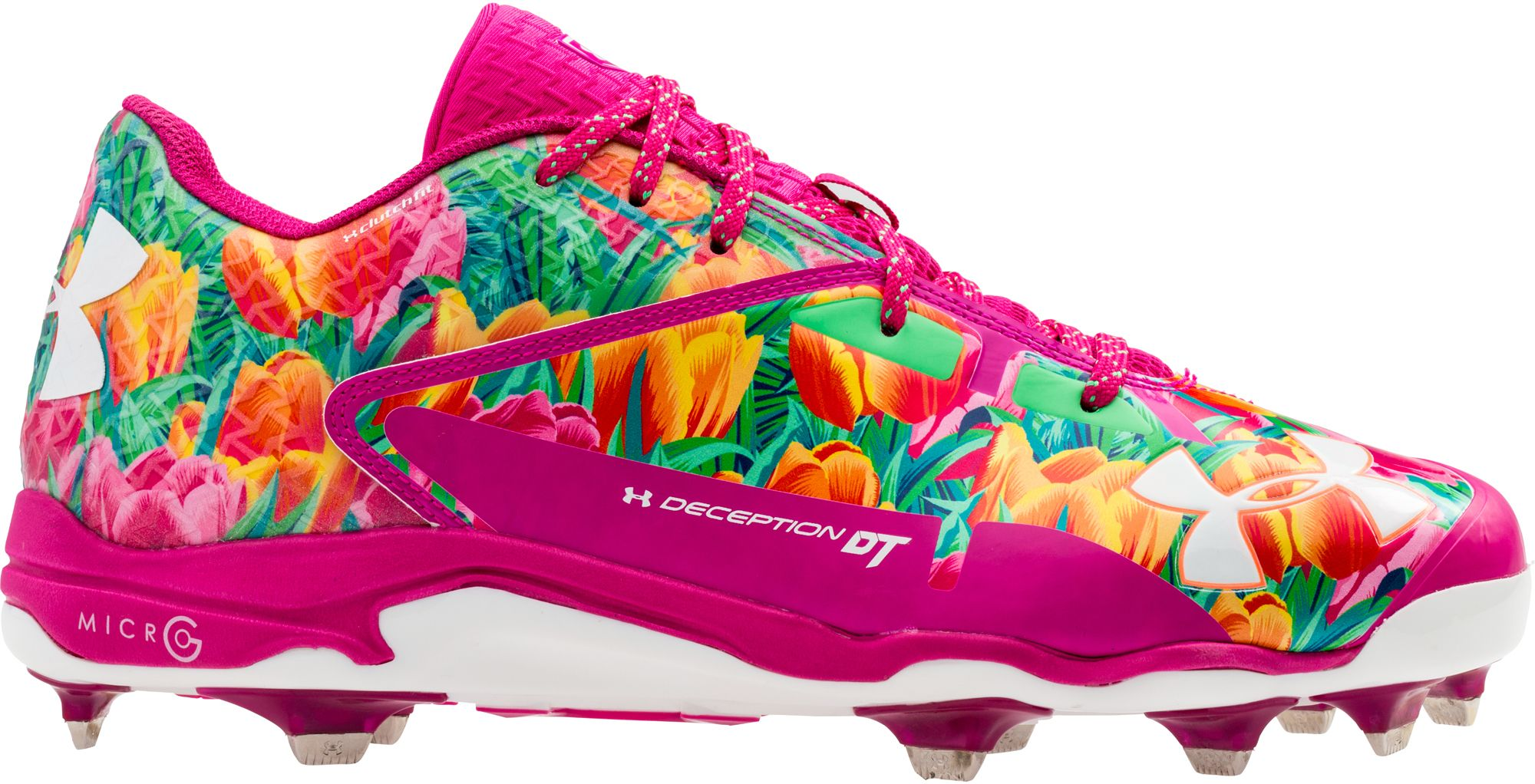 newest 1b489 04b78 ... Under Armour Mens Deception Low DT Mothers Day Baseball Cleats ...