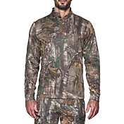 Under Armour Men's Storm Icon Camo Quarter Zip Long Sleeve Shirt