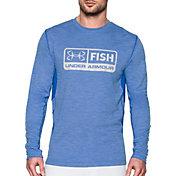 Under Armour Men's Fish Hunter Pill Long Sleeve Shirt