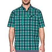 Under Armour Men's Fish Hunter Plaid Short Sleeve Shirt
