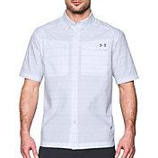 Under Armour Men's Fish Hunter Plaid Short Sleeve Shirt