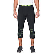 Under Armour Men's CoolSwitch Three Quarter Length Football Leggings
