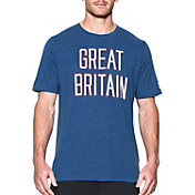 Under Armour Men's Tri-Blend Country Pride Great Britain Graphic T-Shirt