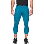 Under Armour Men's HeatGear Armour Printed Three Quarter Length Compression Leggings