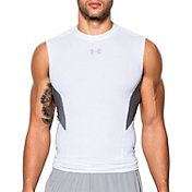 Under Armour Men's HeatGear CoolSwitch Compression Sleeveless Shirt